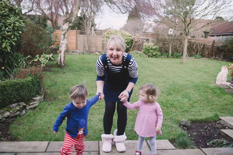 Bristol Mum Becky Male and her toddler twins