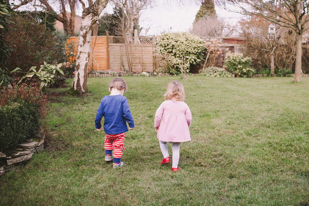 Coping with toddler twins