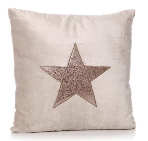Mink Star Cushion