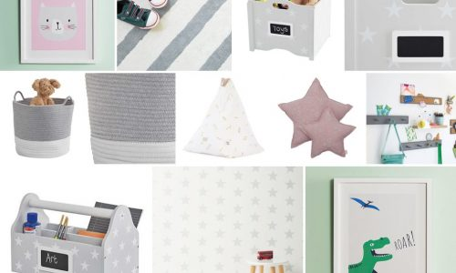 Childrens playroom moodboard