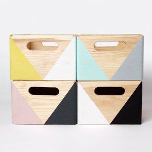 Happy Little Folks wooden toy storage