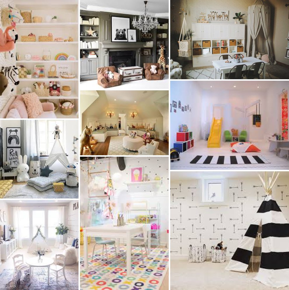 Gorgeous playrooms