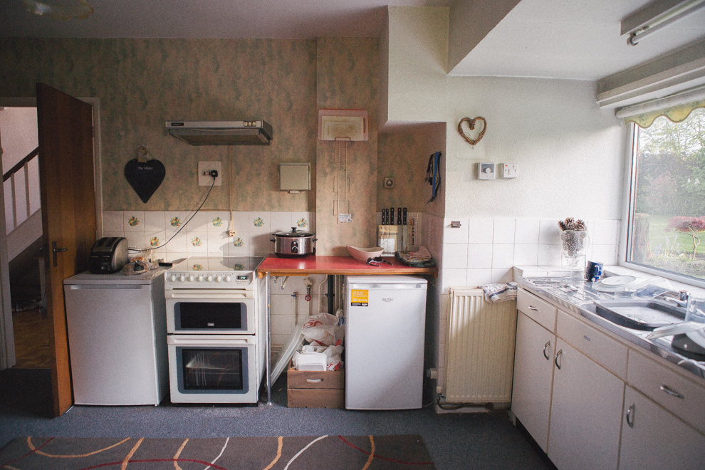 Our before kitchen 1960s original