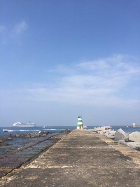 Molhe Lighthouse Portugal