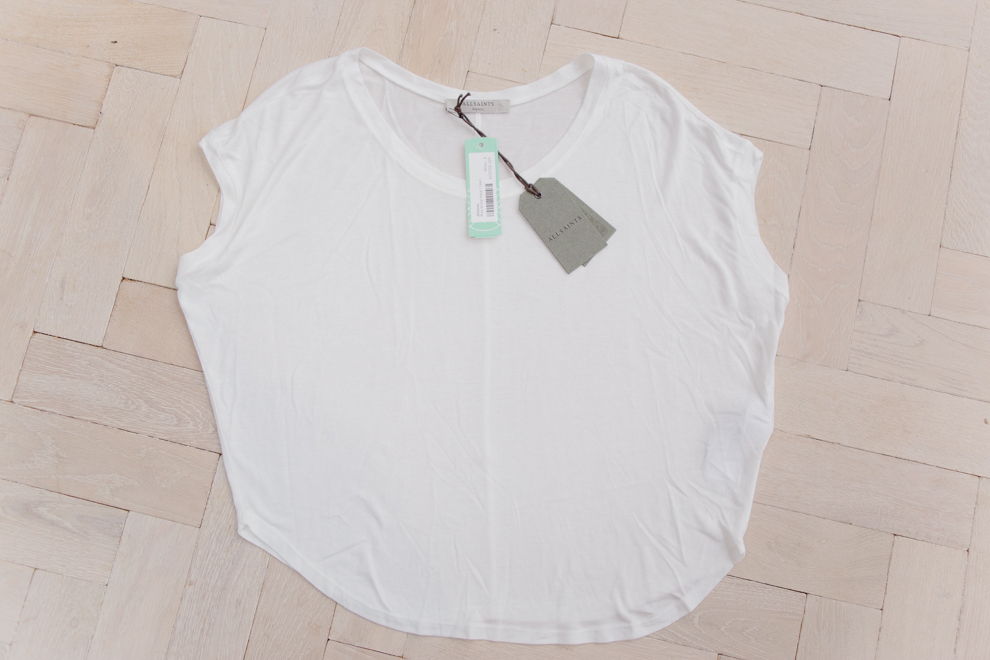All Saints White Tee Shirt Stitch Fix